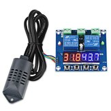 DC 12V XH-M452 Temperature And Humidity Controller Module Digital Display High Accuracy Dual Output Automatic Constant Temperature And Humidity Control Board