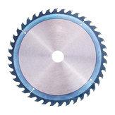Drillpro 250mm HSS Blue Nano Hoja de sierra de recubrimiento 40 dientes Disco de rueda de amoladora de madera para trabajar la madera