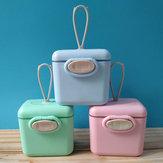 粉ミルク乳児用ミルクパウダーディスペンサーフィーディングボックスキッチンストレージコンテナー