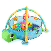Gym Infant Floor Activity Zagraj w Baby Mat Turtle With Fun Balls Toys Playmat