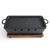 36 * 13 * 20CM Outdoor Mini BBQ Houtskoolgrill Barbecue Kits voor Garden Yard Party