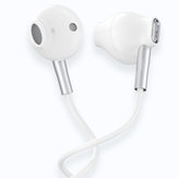 JOWAY HP61 3.5mm HI-FI Wired Control Earbuds Earphone Shallow In-ear Headphone with Mic