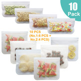 10pcs Reusable Silicone Stretch Lid Wraps Seal Bowl Cover Kitchen Food Storage Tools Kit