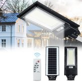 492/966LED Solar Street Light Motion Sensor Outdoor Waterproof Wall Lamp with Remote