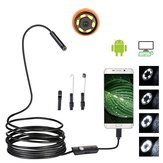 7mm USB Borescope Snake Inspection Camera Telefon z Androidem Soft Drut
