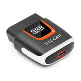 Viecar VP004 ELM327 V2.2 WIFI With Type C USB Interface OBD2 EOBD Car Diagnostic Scanner Tool OBD II Auto Code Reader For Android/IOS USB OBD