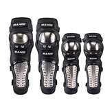 SULAITE 4Pcs Sets Motorcycle Elbow Knee Pad Protective Safety Gear Protector Guards Kit