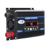 4000W Peak Car Power Inverter DC 12V zu AC 110V 220V Dual USB Modifizierter Sinuswandler mit LED Bildschirm
