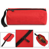 Electrician Oxford Canvas Waterproof Storage Tool Bag Utility Bag Repair Hand Toolkit Metal Screws Drill Plier Wrench Organizer