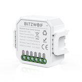 BlitzWolf® BW-SS5 1 Gang / 2 Gang Bidirectioneel 10A 2300 W WIFI Smart Switch Module APP Afstandsbediening Groepscontrole Timer