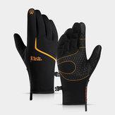 Zimowe ciepłe rękawiczki M / L / XL / 2XL Wodoodporne odblaskowe rękawiczki termiczne Wszystkie palce