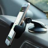 Bakeey Supporto per telefono desktop con supporto per auto da 650 gradi per ventosa multifunzione girevole a 360 gradi per smartphone da 5-8 cm di larghezza