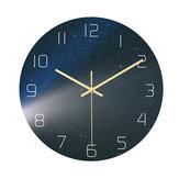 Loskii CC024 Creative Starry Pattern Wall Clock Mute Wall Clock Quartz Wall Clock For Home Office Decorations