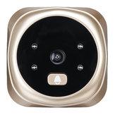 2,4-calowy ekran LCD 135 stopni 720P HD Wizjer Cyfrowy wizjer Drzwi Oko Dzwonek Kamera Kryty Gong Noktowizor Robienie zdjęć / Nagrywanie wideo dla bezpieczeństwa w domu
