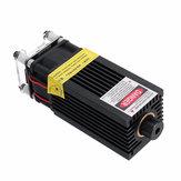 5500mW 445nm Azul Laser Módulo 5.5W Foco variável Modulação TTL & PWM com dissipador de calor 2.54-3P + 2P DIY Laser Gravador para EleksMaker