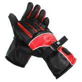 Men Women 3 Gear Winter Heated Gloves Skiing Waterproof Mittens Thermal Snowboard Motorcycle Riding