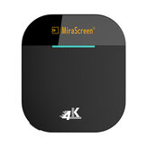 Mirascreen G5 Plus 2.4G 5G Wireless 4K HD H.265 Дисплей Dongle TV Палка для Air Play DLNA Miracast