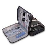 Multifunctionele digitale opbergtas USB-oplader Oortelefoon Organizer Draagbare reiskabeltas
