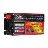 4000W Power Inverter 110V/220V Car Solar Inverter Converter For Solar System Truck Modified Sine Wave
