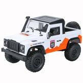 MN D90 1/12 2.4G 4WD RC Coche Camiones sobre orugas RTR Modelos de vehículos