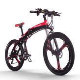 [AB Doğrudan] RICH BIT TOP-880 250 W 36 V 9.6Ah 26 inç Katlanır Moped Elektrikli Bisiklet Hidrolik Disk Fren 35 km / s Üst Hız 38-42 Kilometre Aralığı Dağ Elektrikli Bisiklet