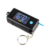 2 in 1 Mini Electronic Digital Display Tire Gauge Keychain Automobile High Precision Tread Depth Tire Pressure Gauge