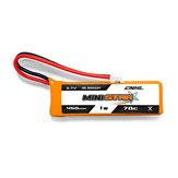 4PCS CNHL MiniStar HV 450mAh 3.7V 1S 70C Lipoバッテリー(PH 2.0付き)EMAX TinyHawk
