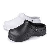 滑り止めの靴の女性医療看護キッチンスリップ