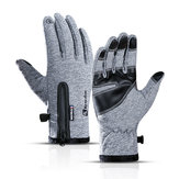 Winter Warm Windproof ضد للماء Gloves لمس شاشة Sports