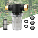 Garden Hose Filter Attachment For Pressure Washer Pump Inlet Filter 3/4 Inch Hose Connector Garden Accessories