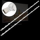 2pcs DC3V 576MM LED Barra de luz rígida para VESTEL VES32BL11 VES315WNDB-01 VES315UNDL-2D-N02 SVV315A39
