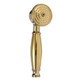 G1 / 2 Cabeça de chuveiro de torneira de mão de cobre antiga, pulverização de chuveiro de alta pressão com 1,5 m Mangueira flexível para Banheiro