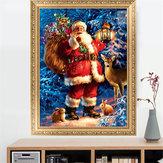 DIY 5D Santa Claus Diamond Paintings Embroidery Cross Stitch Kit Christmas