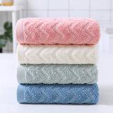 1 stk 100% bomuld Badehåndklæde Ansigtpleje Håndklæde Soft Håndklæde