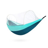 ZENPH Outdoor Single Camping Hammock Anti-mosquito Net Hanging Swing Bed Max Load 300kg from xiaomi youpin