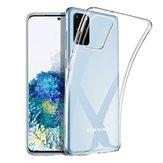 BakeeyCrystalClearTransparenteNão-amareloÀ prova de choque Soft TPU de proteção Caso para Samsung Galaxy S20 + / Galaxy S20 Plus