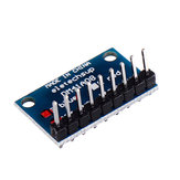 5pcs 3.3V 5V 8 Bit Blue Common Catode LED Indicator Display Module DIY Kit