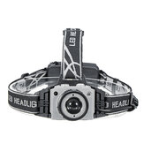 BIKIGHT 2404 650LM T6 Sensor Headlamp Headlight Zoomable USB Rechargeable Head Torch 18650
