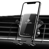 Floveme Vertical Horizontal Gravity Linkage Automatic Lock Air Vent Car Phone Holder For 4.7-7.0 Inch Smart Phone iPhone XS Max Samsung Note 10+ S10+