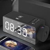 S91S Wielofunkcyjny głośnik Bluetooth Telefon Bezprzewodowa ładowarka DIY Budzik Nagrywanie muzyki Radio FM