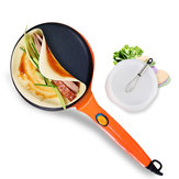 LIVEN BC-411A 8 Inch Electric Crepe Maker with Non-Stick Coating Power Switch on Handle Pot