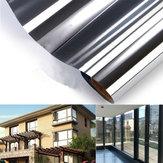 150x50CM One-way Mirror Glass Sticker Reflective Insulation Silver Window Film