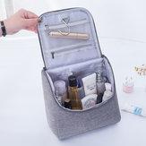 フック付きポータブル旅行化粧品バッグ大容量化粧品オーガナイザー