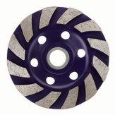 Parte do corte do disco da roda de moedura do segmento do diamante de 100mm para o granito de mármore concreto