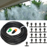 20m Hose Mist Cooling System Garden Water Drip Irrigation Watering System Tool Sprinkler Nozzle