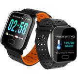 Bakeey A6 Monitoraggio dell'ossigeno per la pressione sanguigna HR durante il sonno fotografica Controllo Smart Watch