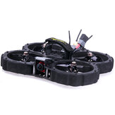 Flywoo Chasers Versão Normal 138mm 3K Fibra de Carbono Kit de Quadro de 3 Polegada c / Dutos para RC Drone FPV Racing