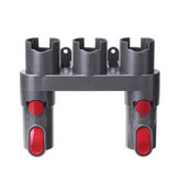 Vacuum Cleaner Parts Holder Accessory Organizer w/ 2Pcs/Set Adapters for Dyson V6 V7 V8 V10 V11