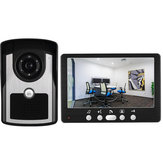 ENNIO 815FC11 7 inch Door Video Phone 1 Monitor 1 Outdoor Doorbell HD Camera Infrared Night Vision System