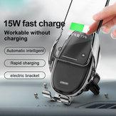 Joyroom 15W Qi Wireless شاحن Infrared ذكي المستشعر Air Vent Dashboard Car هاتف Mount Car Holder for 4.0-6.5 بوصة ذكي هاتف for Samsung Galaxy ملحوظة 10 for iهاتف 11